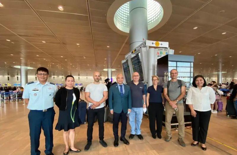 Delegación de Israel de profesionales de la salud de alto nivel llegó a Filipinas para ayudar en la lucha contra la pandemia de coronavirus