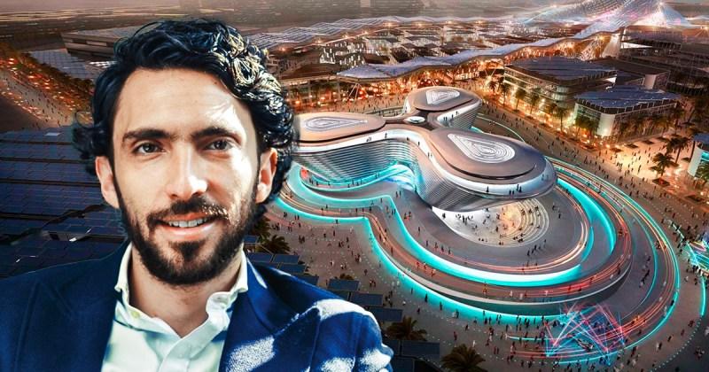 Bernardo Noval dirige el pabellón mexicano de la Expo Dubai 2020