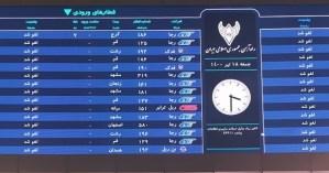Panel de sistema de trenes de Irán