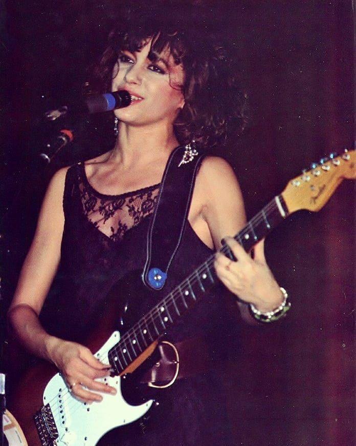 Susana Hoffs, roquera judía de la banda The Bangles