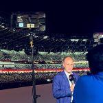 Cibernautas se volcaron en elogios y reconocimiento a Alberto Lati, por su destacada narración de la inauguración de los Juegos Olimpicos de Tokio 2020