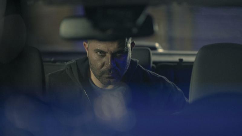 Lior Raz como el rudo protagonista de Hit & Run, Segev