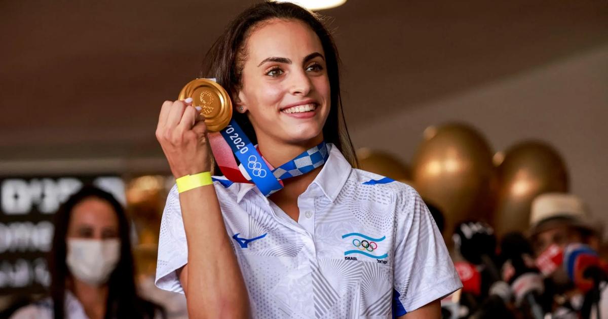 Linoy Ashram, campeona olímpica
