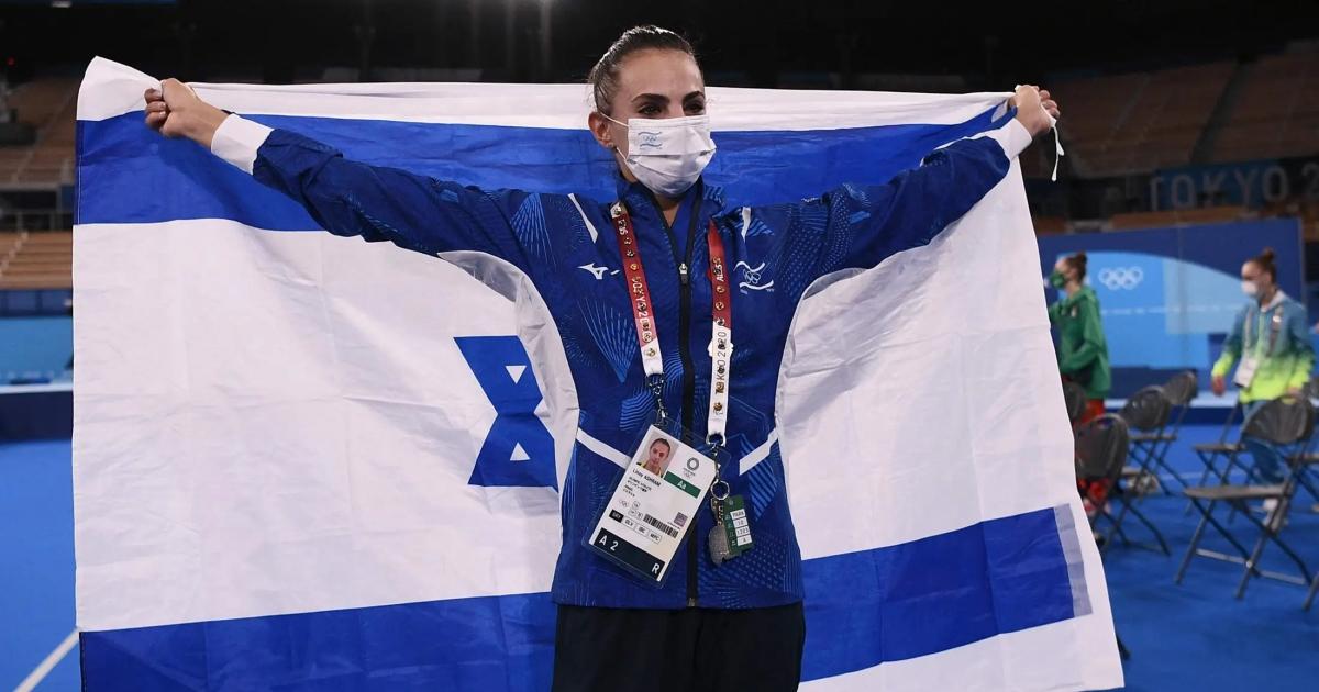 Linoy Ashram, campeona olímpica de Israel