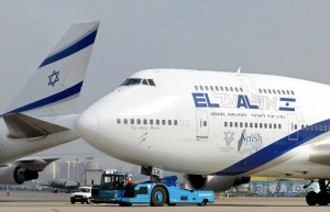 Aeronave israelí de El Al