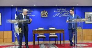 Cancilleres de Israel y Marruecos