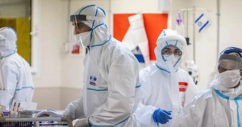 Sala de coronavirus en hospital de Israel