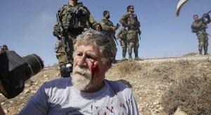 Manifestación de activistas de izquierda en Judea y Samaria-Ejército de Israel