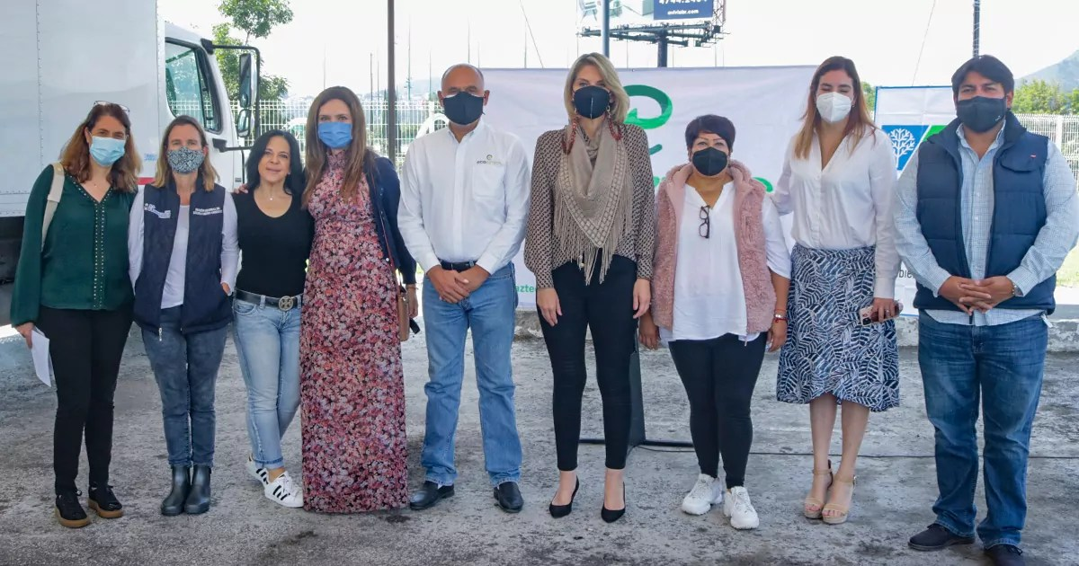 representantes de KKL, ecoAzteca y gobierno de Huixquilucan fomentan el reciclaje de residuos electrónicos