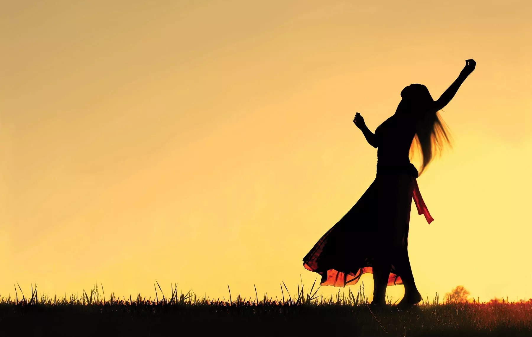 Simjat Torá. Mujer bailando
