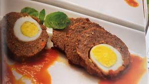 Las Kueisat son rollos de carne condimentada y rebanada
