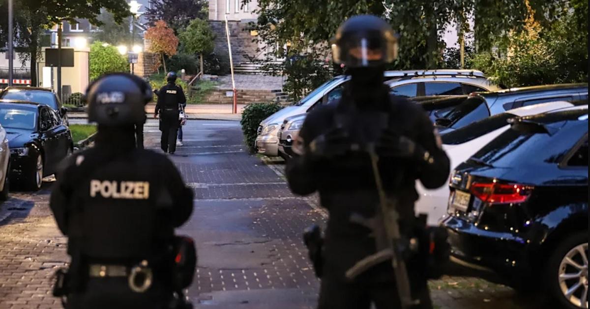 Policías en Alemania