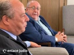 05-10-2021-RABINOS VISITAN LA EMBAJADA DE MARRUECOS PARA ANUNCIAR LA CREACIÓN DE NER HAMAARAVI 1