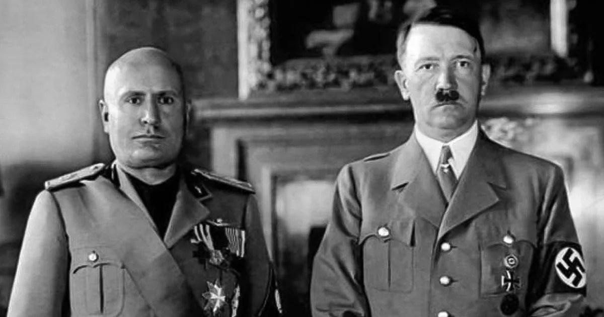 Hitler y Mussolini