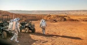 Simulación de vida en Marte-cráter de Ramon