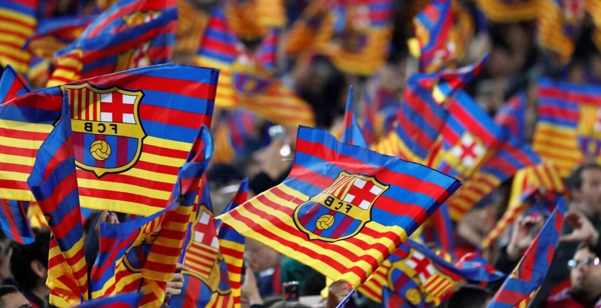 Banderas del Barcelona