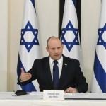 Naftali Bennett en un reunión de su gabinete