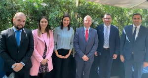Funcionarios del gobierno de Durango y la Embajada de Israel