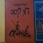 libros de la literatura universal que hayan sido traducidos al yiddish