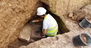 Retrete hallado en Jerusalén de la época del Primer Templo
