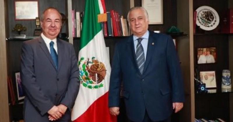 Zvi Tal y Miguel Torruco Marqués