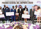 Entrega Cuauhtémoc Blanco el Premio Estatal del Deporte Morelos 2020