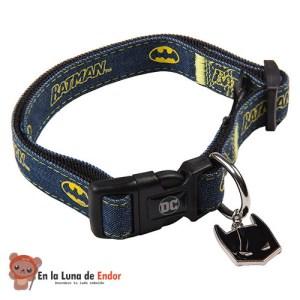 Collar FanPets de Batman para perros y gatos frikis