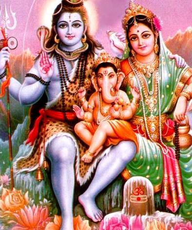 Siva-Parvati-Ganesh