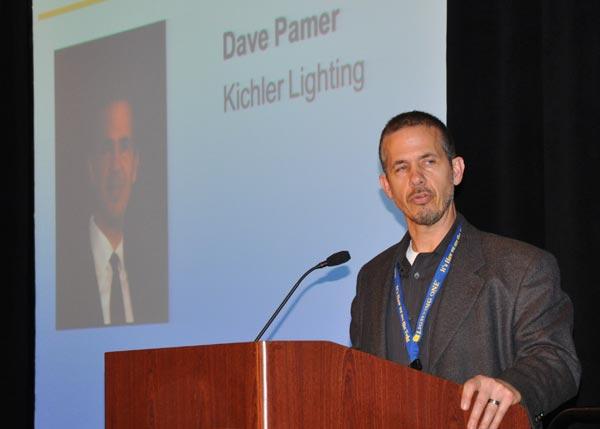Lighting One honors Kihcler VP, Dave Pamer
