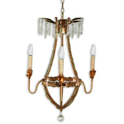 High Point Preview: Flambeau Lighting Louis Chandelier CH1035-3