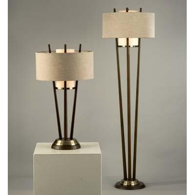 Nova Veld Table and Floor Lamp HIgh Point Lighting Preview