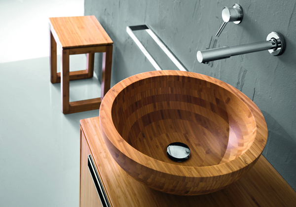 Hastings Tile and Bath Bamboo Sink