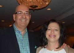 Doug Self and Teresa Warner of the rep firm J. Douglas