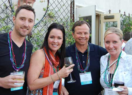 Brian Jupina and Michelle Korthuis; Tim Rogers and Melissa Rentz
