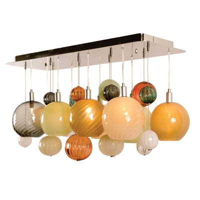 Tracy Glover Silver Lining Chandelier