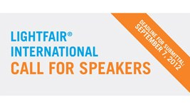 Lightfair Seeks Industry Experts As Conference Speakers