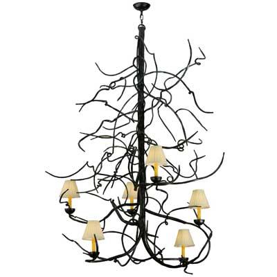 Meyda Lighting: Winter Solstice six-light chandelier