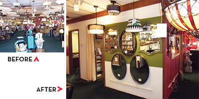 Lighting Showroom Makeover Contest