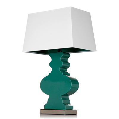 Luminance: Part Of The Kurve Series, The Ami Lamp From The Companyu0027s Krush  Line Has A Custom Ceramic Glaze In Viridian Green That Was Inspired By  Pantoneu0027s ...