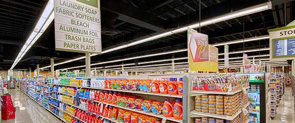 Tops-Grocery-store-lit by cree lighting