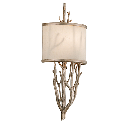 Troy Lighting: Wrought Iron Wall Sconce
