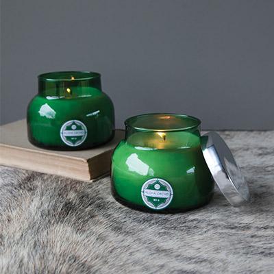 DPM Fragance Capri BlueGreen Jar-Home Decore Under 99 Dollars