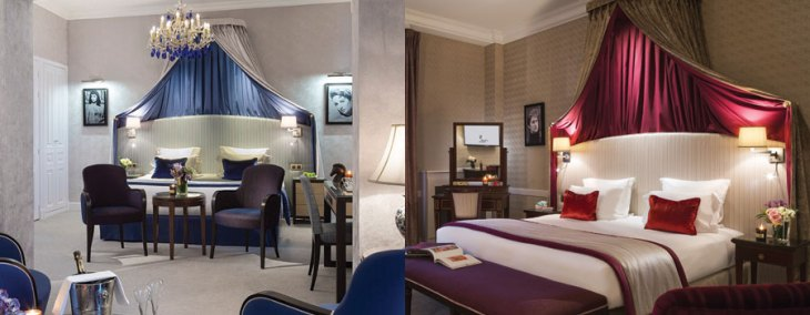 Suites At Hôtel Royal Barrière.