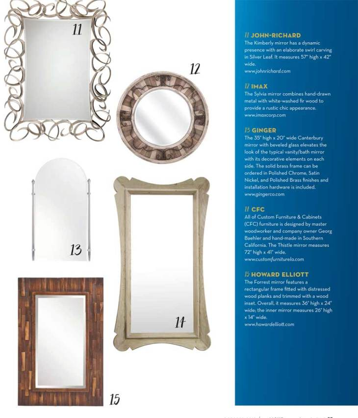 2015 Mirrors For The Home