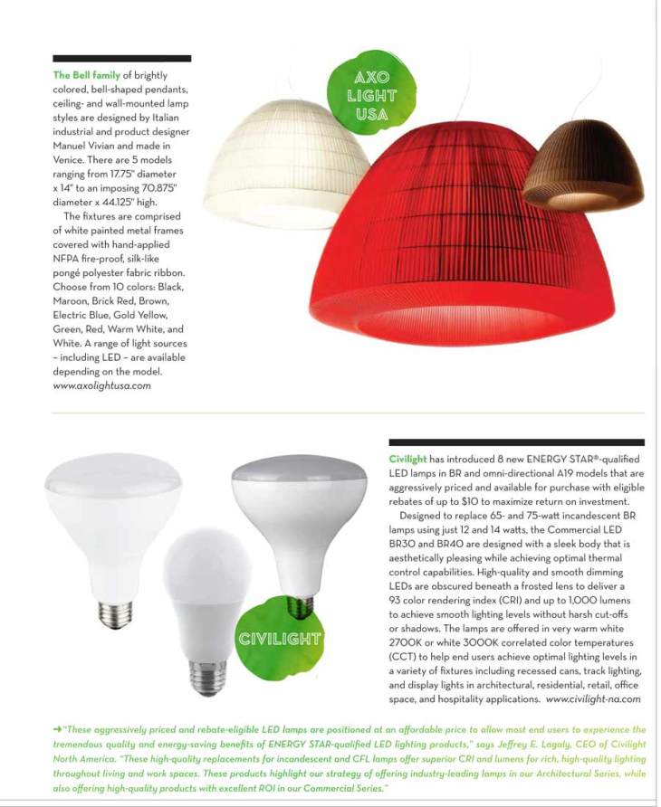 Green Lighting Products For The Home