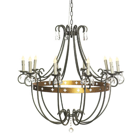Ella Home-wrought iron lighting