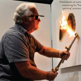 Antonio-based artist Bill FitzGibbon