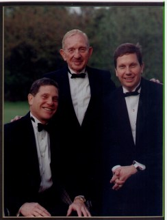 Arthur, Herman, and Max Lebersfeld of Capitol Lighting