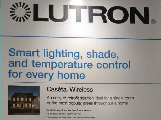 Technology Lightfair Lutron Controls