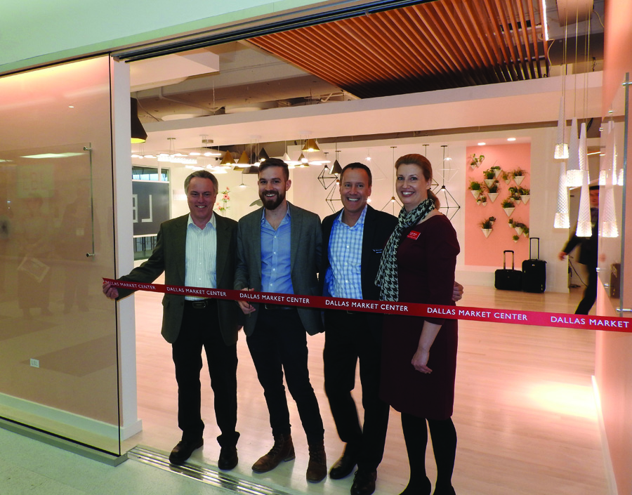 Dallas Market_LBL ribbon cutting